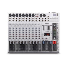G MARK GMX1200 Professional audio mixer mixing console dj Studio 12 channels 8 mono 2 stereo 7 brand EQ 16 effect USB Bluebooth