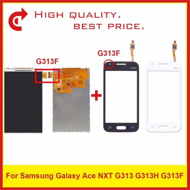 "Hoge Kwaliteit 4.0 ""Voor Samsung Galaxy DUOS Ace NXT G313 G313H G313F Lcd scherm Met Touch Screen Digitizer Sensor panel"