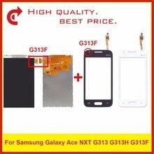 """Yüksek Kalite 4.0 """"Samsung Galaxy DUOS Ace NXT G313 G313H G313F lcd ekran Ile dokunmatik ekran digitizer sensör paneli"""
