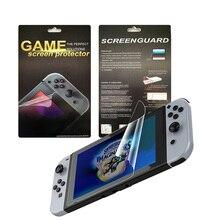 HD Ultra-ince ekran koruyucu Nintend anahtarı konsol Video oyunları aksesuarları için koruyucu cilt çizilmeye dayanıklı filmi