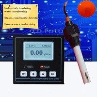 Монитор проводимости цифровая Гидропоника метр Электрический инструмент скорости проводимости 0 4000us/cm непрерывное измерение