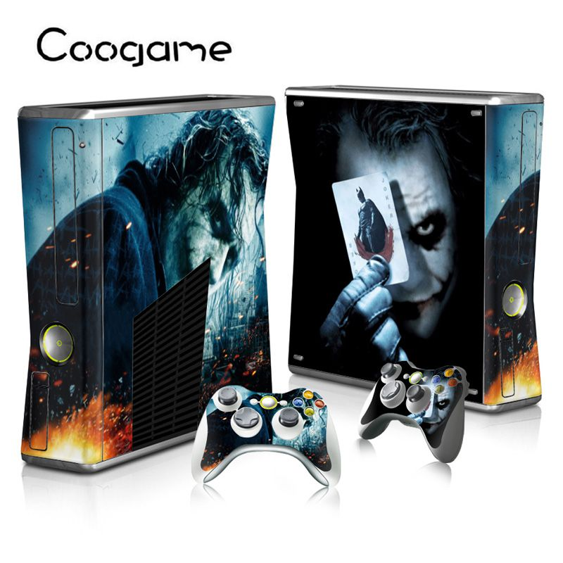 Joker Skin sticker For Microsoft Xbox 360 Slim Consoloe ...