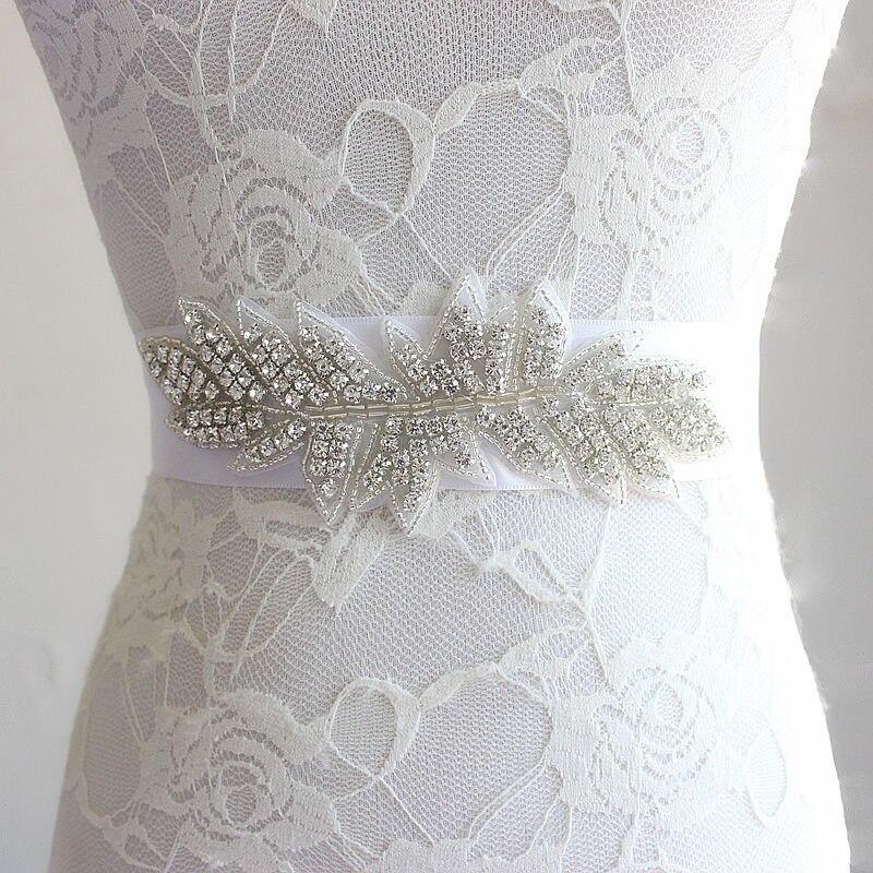European Best Sellers Manual Rhinestone Wedding Belt Bride Waist Seal Aestheticism Wedding Dress Full Dress Accessories