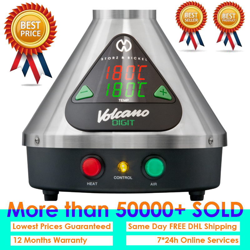 June Newest White blue Package Volcano Medic Vaporizer With Easy Valve Set Included Full Kit Free DHL Shipping Worldwide