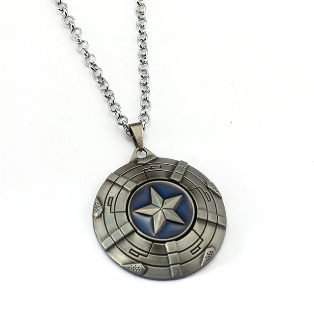 Captain America Shield Necklace 3