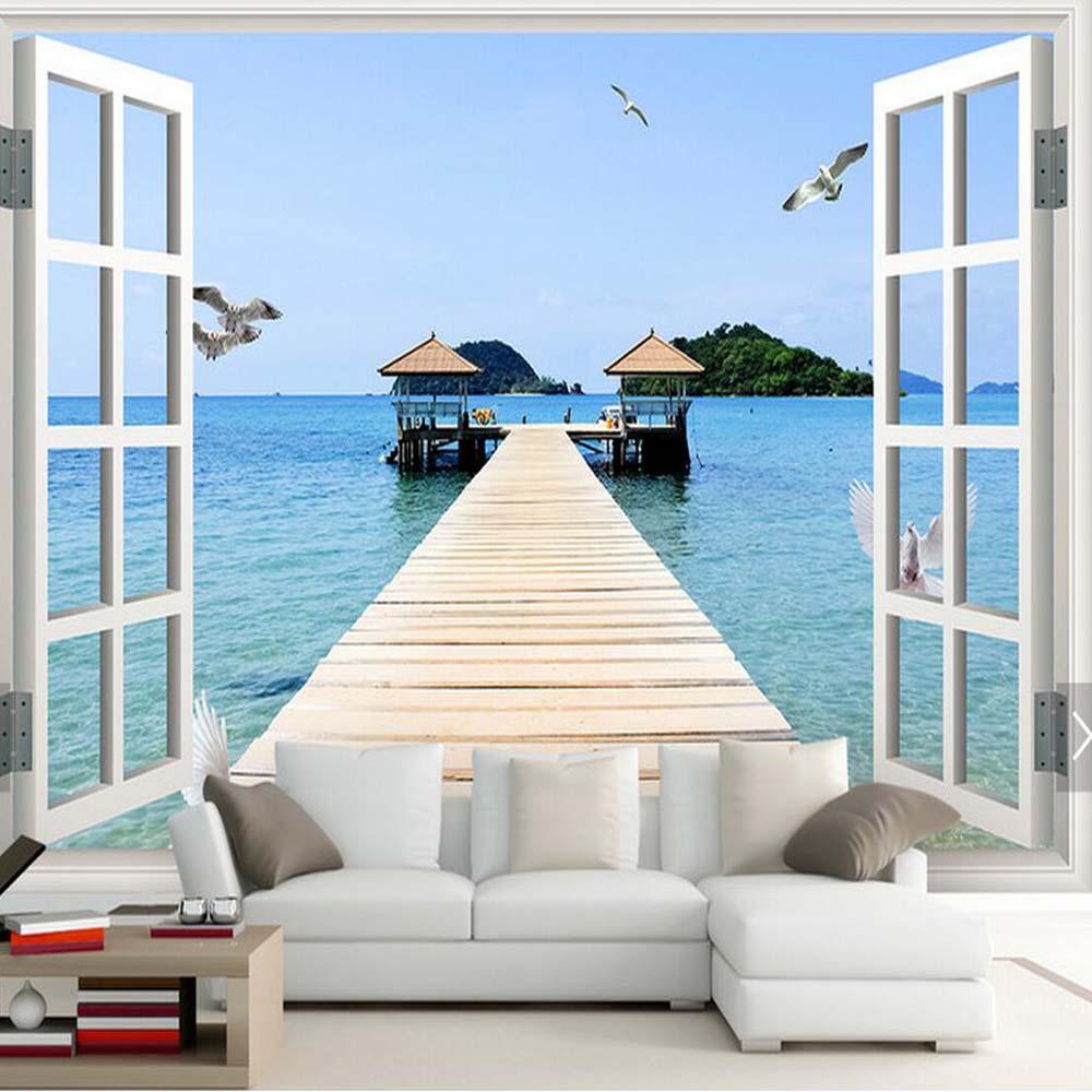 Wandbilder Wohnzimmer Strand Decomonkey Bilder Strand Meer 120x40