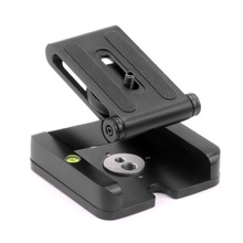 XILETU LZ-9 Z-Type Foldable Head Flexible Z Pan Folding Desktop Quick Release Plate for DSLR Camera Stand Holder F21235  все цены