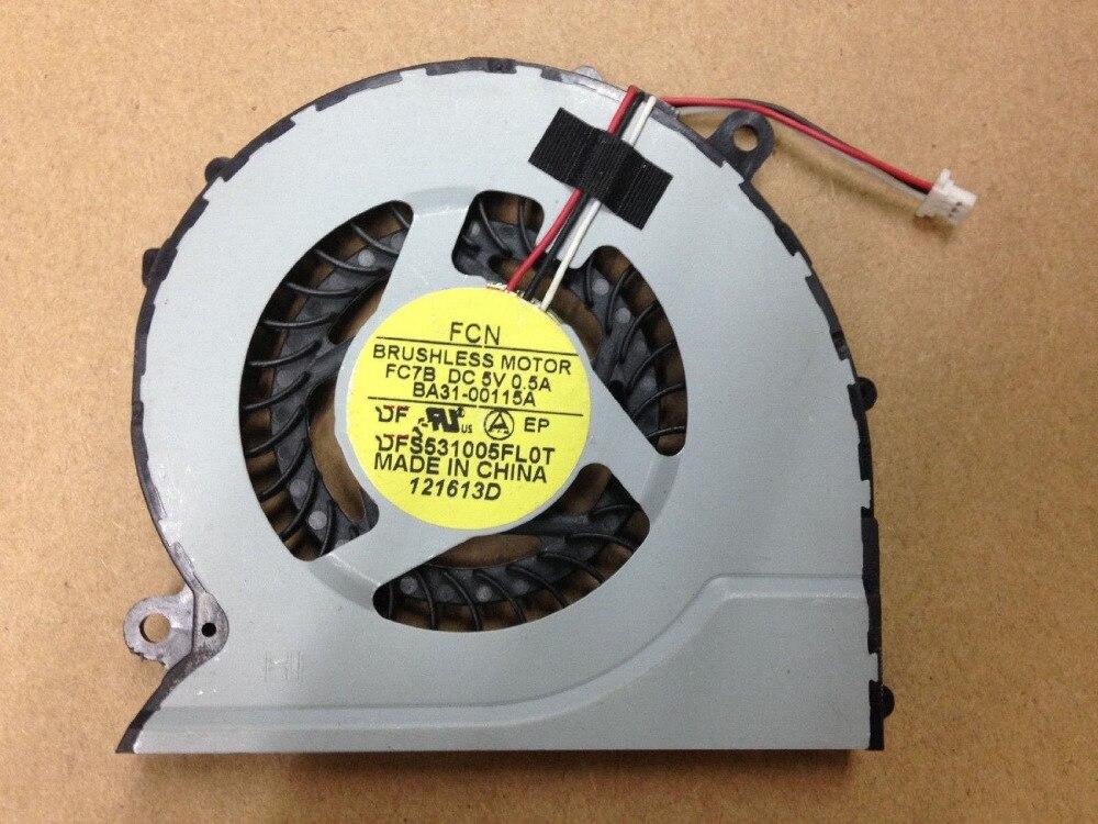 SSEA nouveau ventilateur de refroidissement CPU pour SAMSUNG NP 370R5E 510R5E NP 370R4E 370R5E 450R4V 450R5V 510R5E P/N: DFS531005FL0T FC7B BA31 00115A|Tampons de refroidissement pour ordinateur portable|Ordinateur et bureautique -