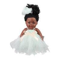 Reborn Dolls 48cm Girls dolls Full Vinyl Children's doll For Girls Mini Reborn Realista Baby With Wedding Dress Dolls Newborn