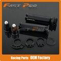 BARRACUDA 7/8'' 22MM CNC Aluminum Motorcycle Handle Bar CAPS  Handlebar Grips Fit Z750 ZX636 ZX600 ZX6R ZX750 ZR750 VN800