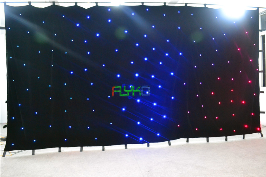 free shipping chrismas usage 3x6m led star cloth on aliexpress ...