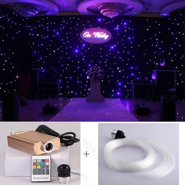 Diy star starry wall led optic fiber light kits for party and diy star starry wall led optic fiber light kits for party and wedding stage decoration lights junglespirit Images