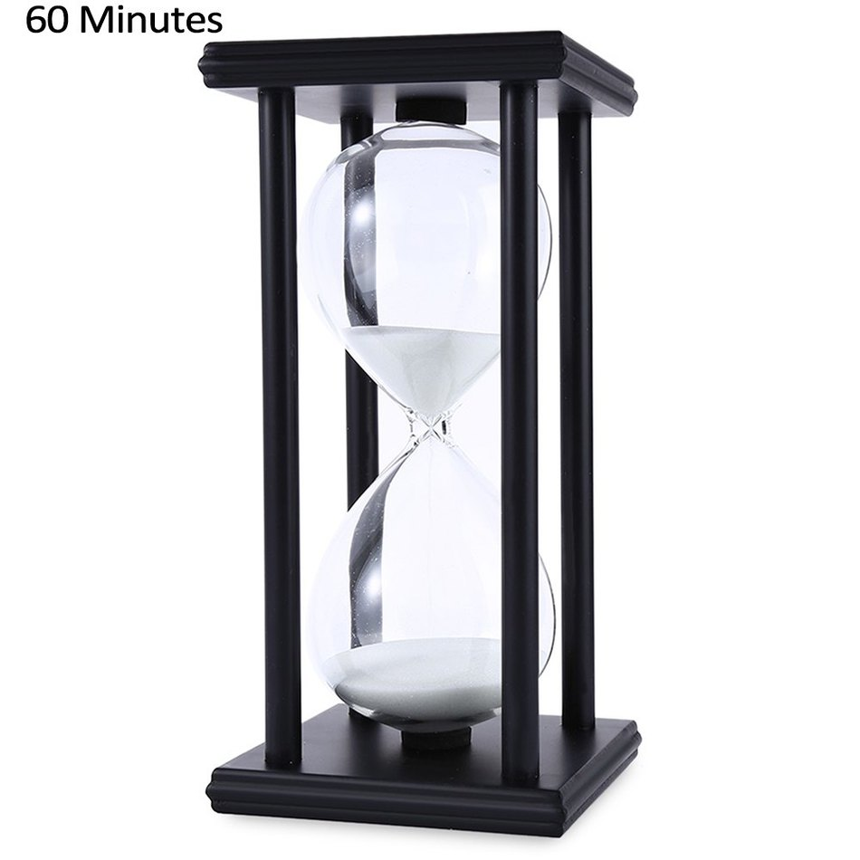 Wood Sandglass Sand Hourglass 45/60 Minute 20.5 * 10 * 10 Countdown Таймер Сағат Xmas Birthday Gift Home Decoration Reloj De Arena