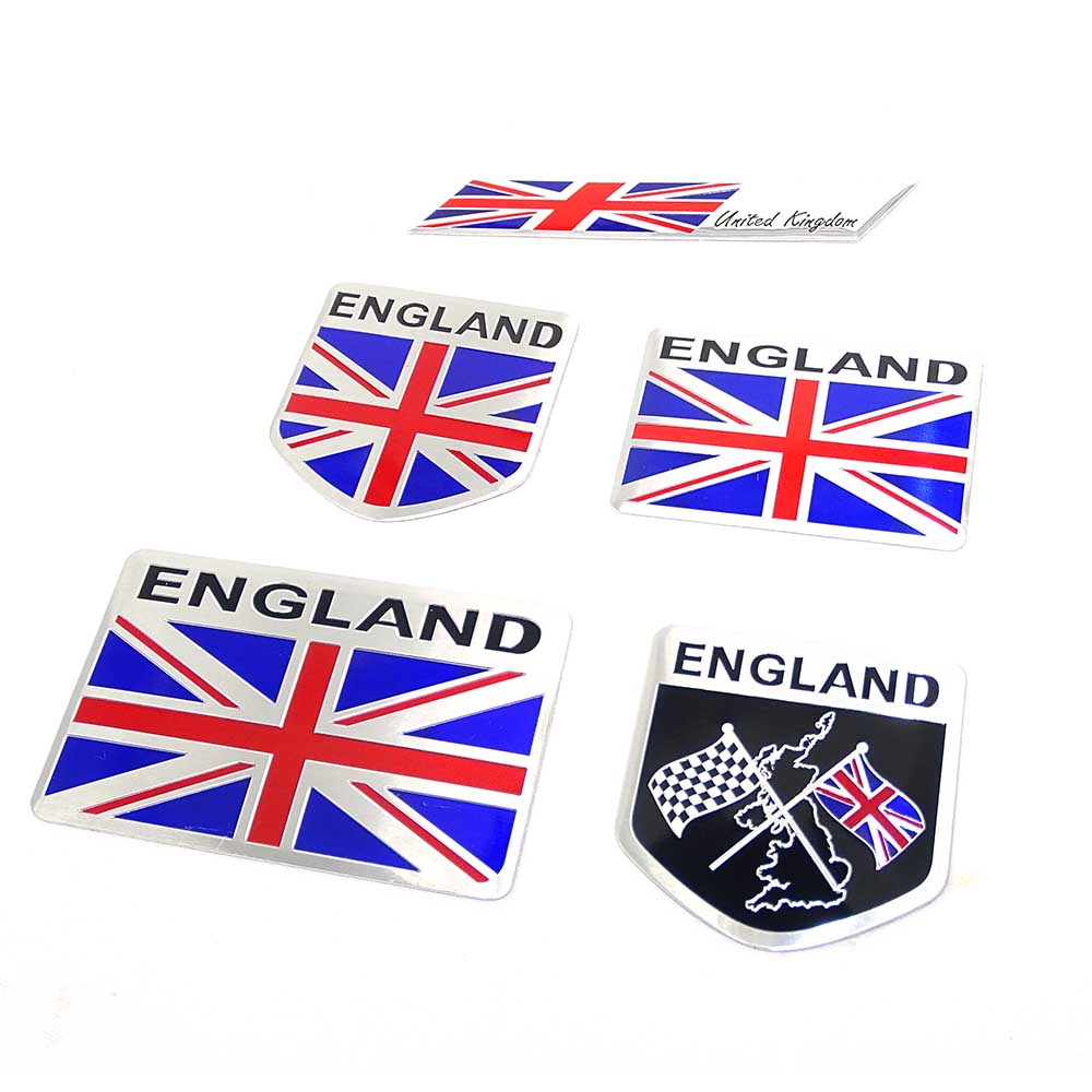 Vehicle Parts & Accessories Car Badges Free Fixings Supply Gb Union Jack Car Grille Badge