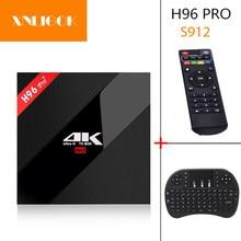ТВ-приставка H96 Pro Plus, Android 7,1, 2 ГБ/16 ГБ, 3G/32 ГБ, Восьмиядерный процессор Amlogic S912, 2,4/5,8 ГГц, Wi-Fi, 4 K HD, iptv, m3u, H96 PRO, Смарт ТВ-приставка