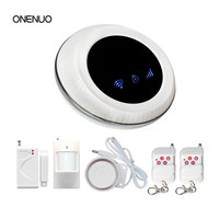 Wireless Home Security Safe House Alarm Panel GSM WIFI Alarm System Free Shipping