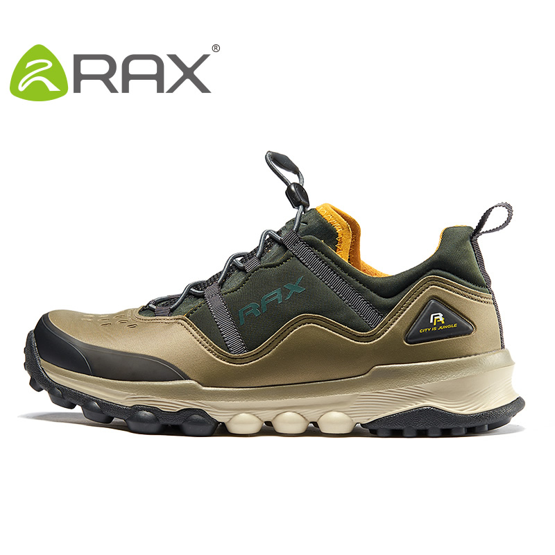 Rax Hiking Shoes Men Sneakers Authentic Outdoor Shoes Breathable Male Multifunctional Antiskid Damping Climing Shoes #B2515