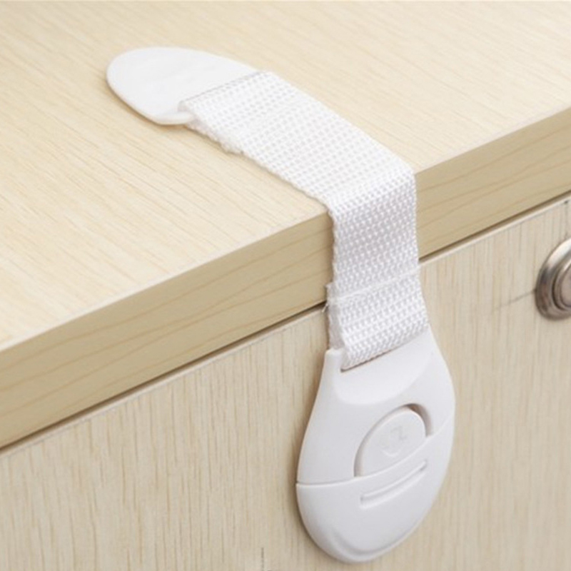2Pcs 20.5cm New Cabinet Door Drawers Refrigerator Toilet Lengthened Bendy Multi-function Safety Lock For Baby Safety