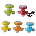 New Mini USB Electric Handled Wave Vibrating Massager Full Body Massage Free shipping