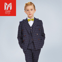Dress children's leisure clo kids baby boy suits Blazers vest gentleman clothes for weddings formal cloththing setsing Costumes