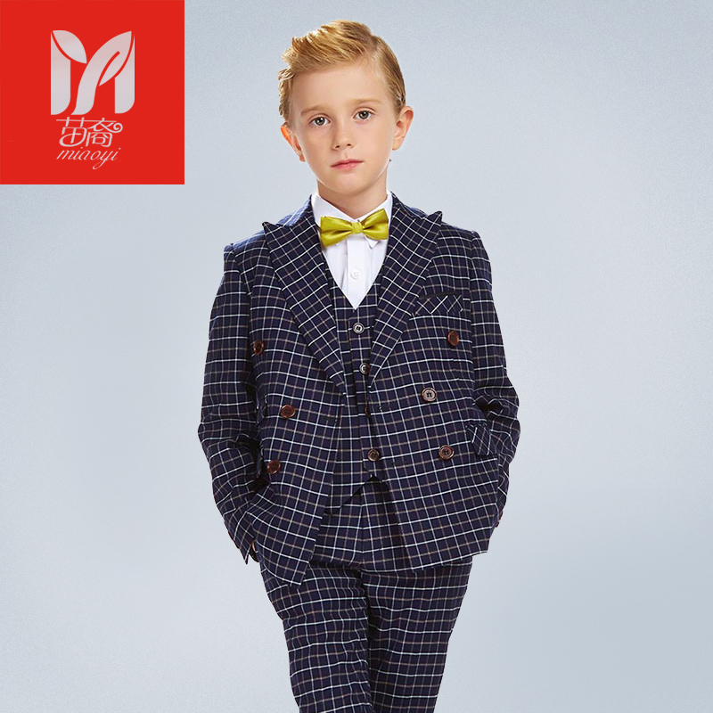 Dress  children's leisure clo kids baby boy suits Blazers vest gentleman clothes for weddings formal cloththing setsing Costumes high quality school uniform new fashion baby boys kids blazers boy suit for weddings prom formal gray dress wedding boy suits
