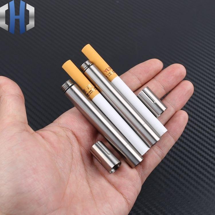 Pocket waterproof titanium alloy toothpick holder outdoor traveling tool 9H