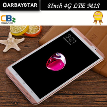 Carbaystar 8 дюймов M1S Octa core Android 6.0 4 г LTE компьютер Android смарт планшетный ПК, Лучший рождественский подарок для Него планшетных ПК