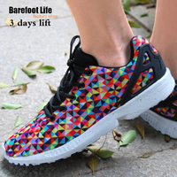 Barefoot Life New Man And Woman Seakers For Spring Season Use More Color Print Upper Like