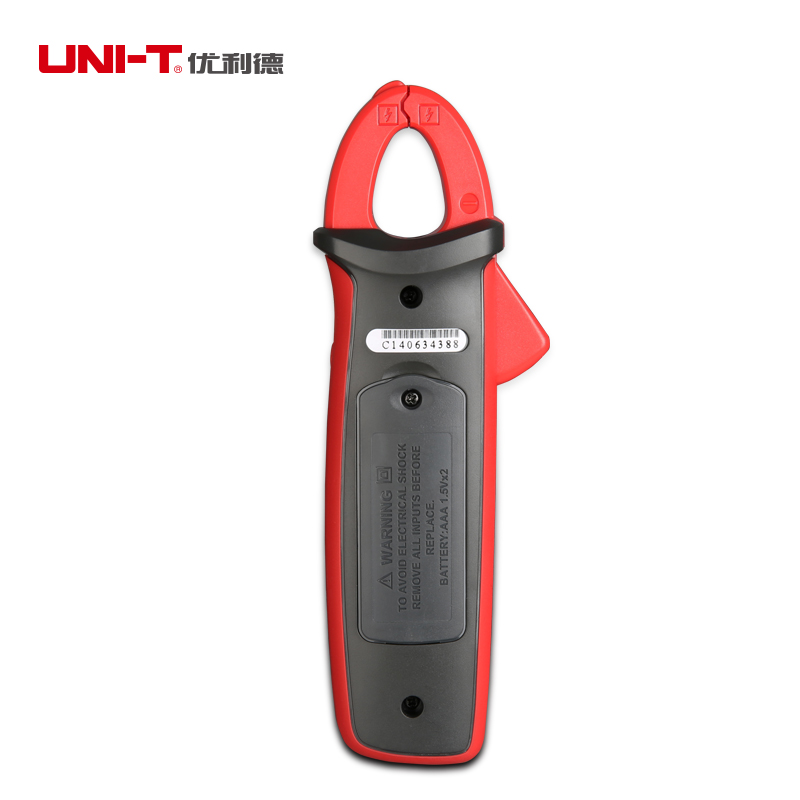UNI T ut211a/ut211b amperímetro ac/dc 60a mini digital braçadeira medidores de diodo ohm verdadeiro rms amperímetro vfc/ncv/resistência/teste de capacitância - 6