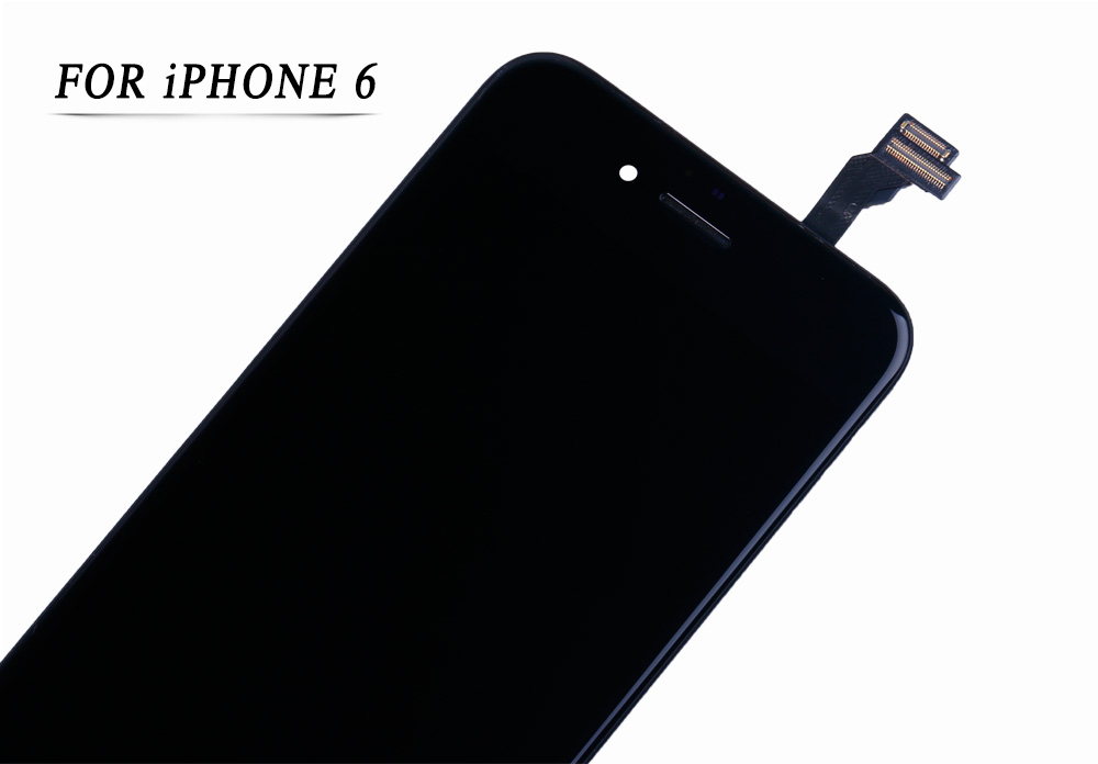 HTB1YlosbdjvK1RjSspiq6AEqXXaC AAA+++ Screen on For iPhone 5 5c 6 LCD Touch Screen Assembly Digitizer Replacement Module for iPhone 6s 5s display No Dead Pixel