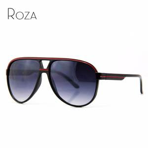cac59ef3be88 ROZA Retro sunglasses men decoration glasses Oculos UV400