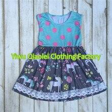 2017 de Haute qualité En Gros Bébé vêtements ensemble d'été bébé filles boutique tenues Enfants Vêtements