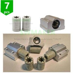 Image 2 - 7pcs Polymer SC8UU & Bracket 8mm Linear Rail Double Igus Drylin RJ4JP 01 08 for Anet/Tronxy/Reprap Prusa i3 3D printer