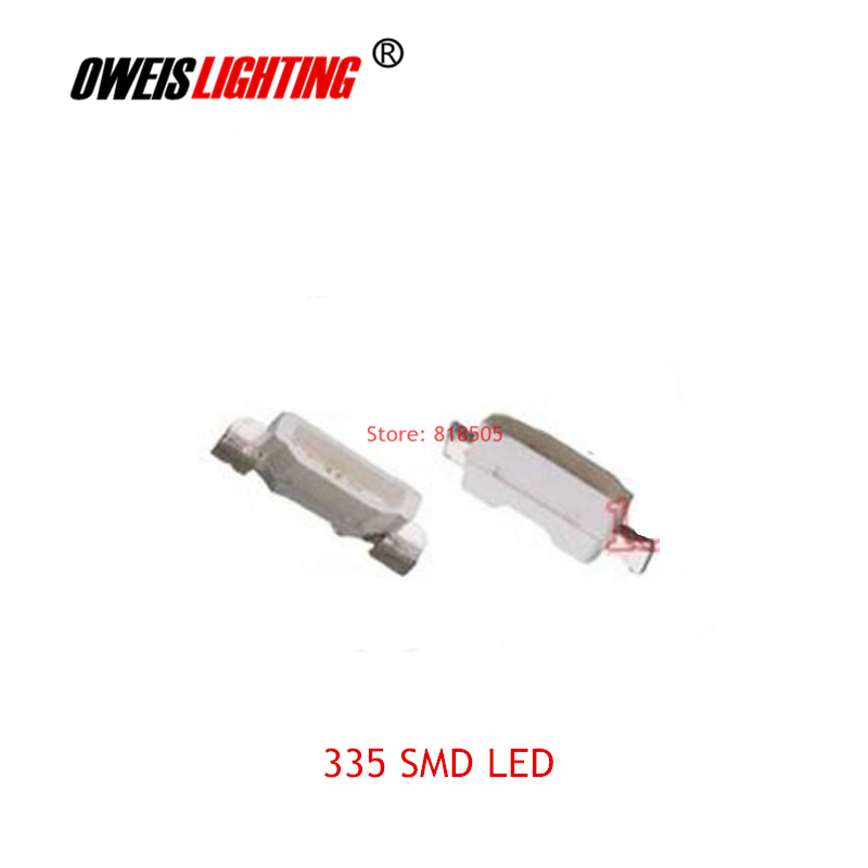 20PCS 335 SMD LED 4.0*0.8mm 4008 Side-emitting Lamps RED BLUE YELLOW GREEN WHITE ( TRUE / COLD ) 20mA 2PIN Free Shipping