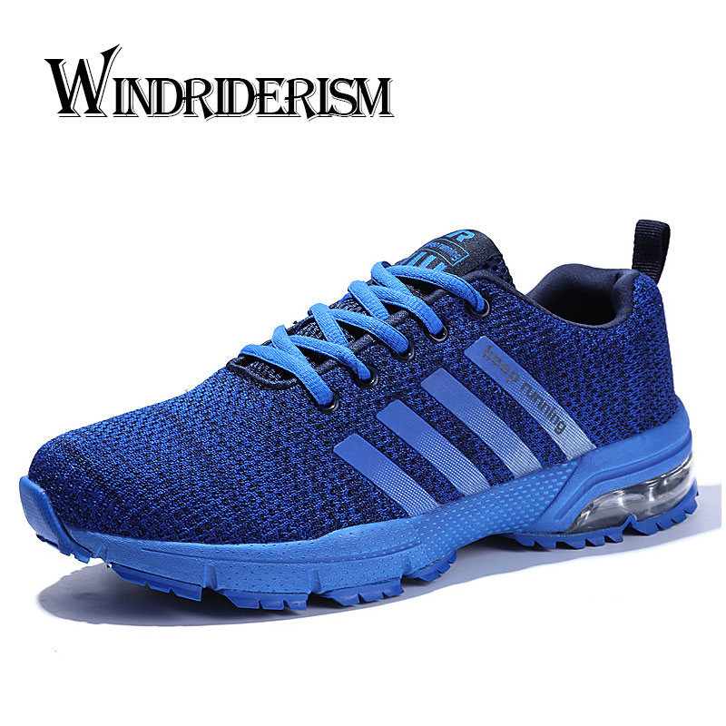 WINDRIDERISM Running Shoes Men Adult Athletic Trainer Size 46 Cushioning Outdoor Breath Unisex Fitness Sneakers Sport Gym Shoes