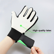HOT 1 Pair Full Finger Gloves Children Teens Anti Slip Hands Wrap for Football Goalkeeper HV99
