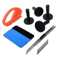 EHDIS 3M Felt Squeegee Vinyl Car Wrap Tool Set Cutter Knife Magnet Holders Multi Hand Tools
