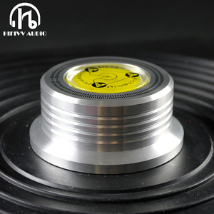 Image 2 - 3in1 LP Disc Stabilizer Turntable Metal Record Clamp For Vinyl Record Turntable Vibration Balanced