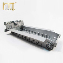 Mato 1/16 metal chassis with track tensioner back panel for Heng Long 3818-1 RC German Tiger 1 tank lower hull robot chassis