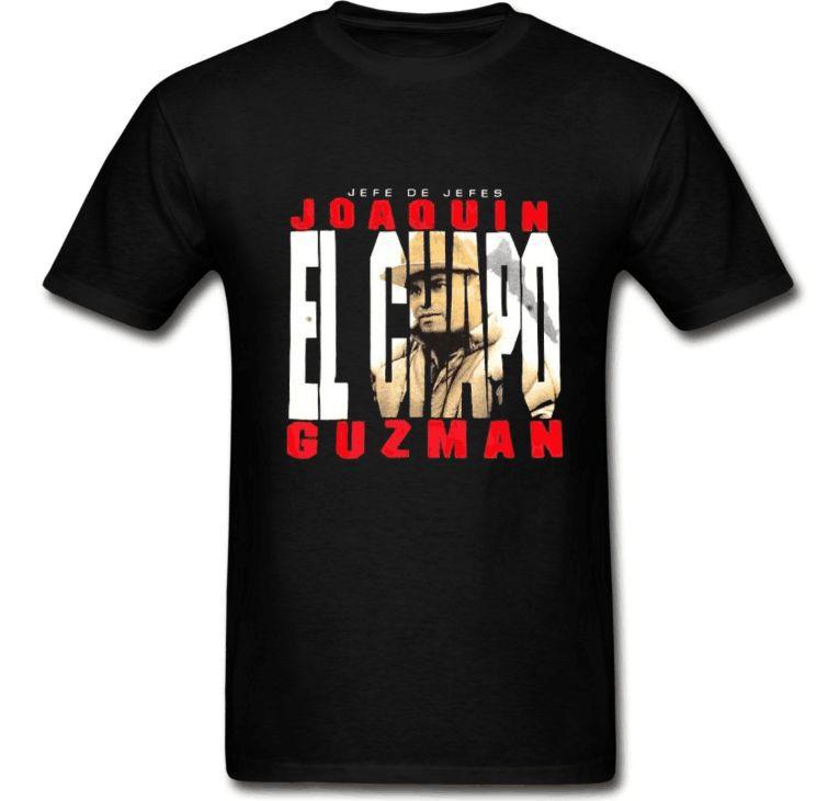 Popular cartel t shirts buy cheap cartel t shirts lots for Chapo guzman shirt brand