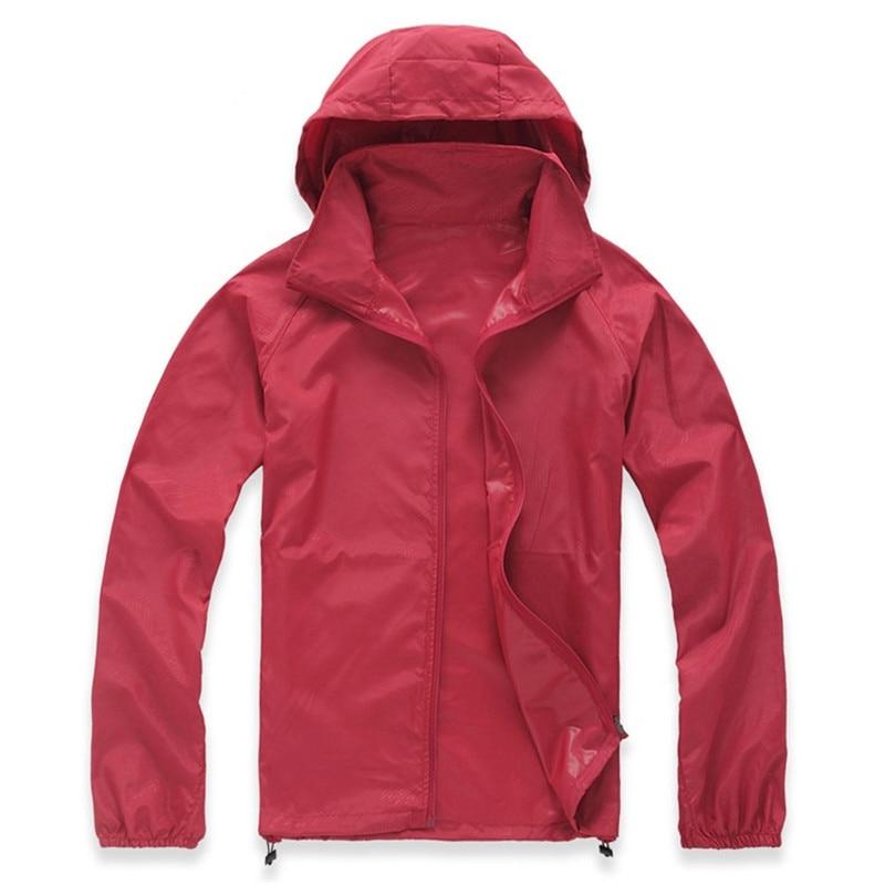 2019 Neue Frühling Sommer Quick Dry Wasserdichte Haut Jacken Frauen Mantel Anti Uv Ultra Licht Atmungsaktiv Windbreaker Jacke Weibliche Hoher Standard In QualitäT Und Hygiene