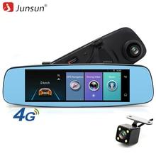On sale Junsun 4G Android 5.1 Car DVR Camera mirror GPS Navigation Digital FHD 1080P Video recorder ADAS Remote Monitor rearview dashcam