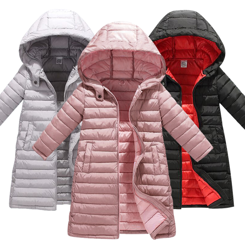 Jacket Kids Coats Zipper Girls Boys Winter Fashion Thick Patchwork