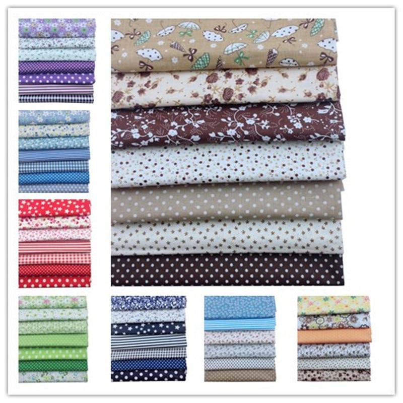 Tissu en coton mince uni pour bricolage Patchwork couette Telas Tedio tissu à coudre bricolage artisanat Tilda jouet poupée tissu travail manuel matériel