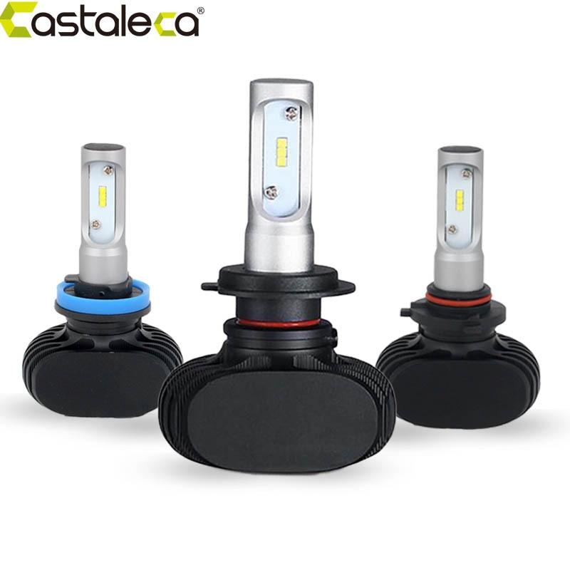 Prix pour Castaleca h7 h8 h9 h11 csp led 12 v 24 v phares de voiture auto led ampoule 9005 9006 9012 psx24 psx26