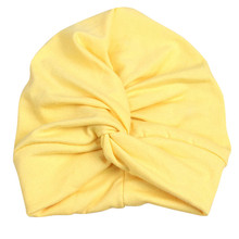 Soft Cross Indian Cap Turban Cross Flower Baby Hat Twisting Hat Beanie Toddler Infant Kids Caps Lovely Bonnet Accessories