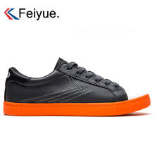 a455da40 Feiyue холст Скейтбординг кроссовки занятий Кунг обувь Для мужчин боевые  искусства унисекс ушу, тренировочные кеды