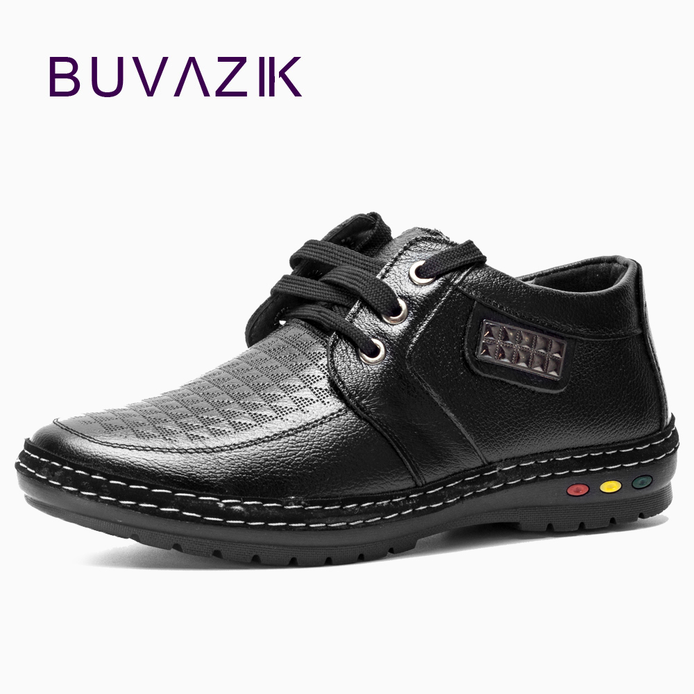 2017 new men casual leather shoes height increasing 5cm genuine leather soft and comfortable male shoes black brown freeshipping