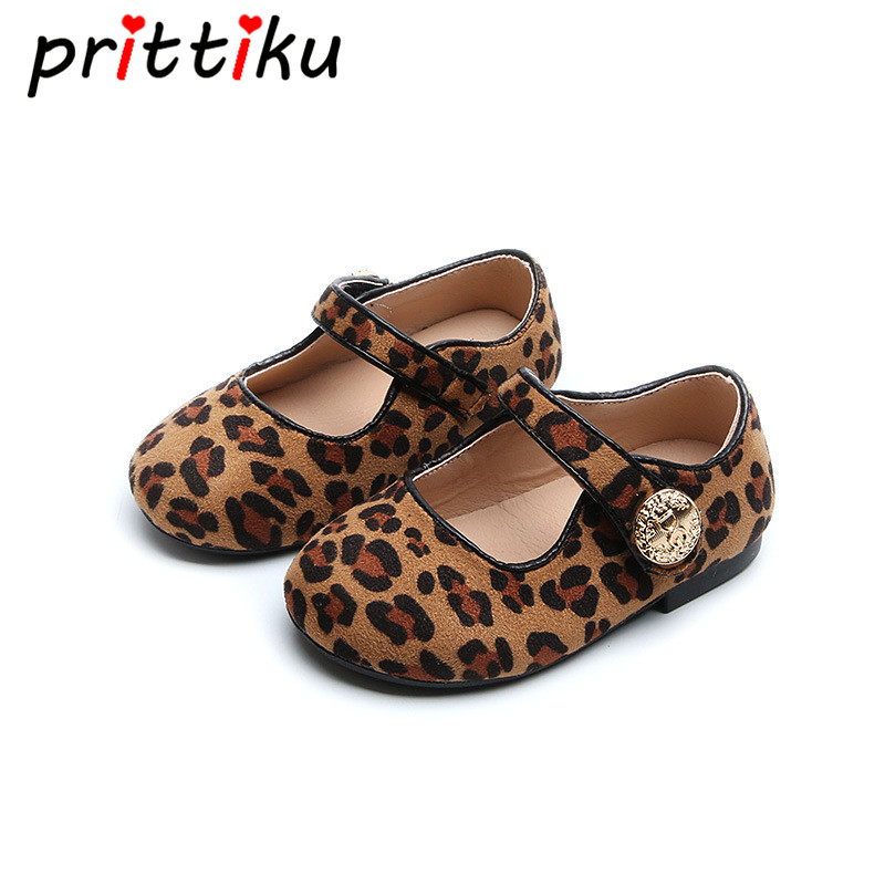 Baby Girls Casual Leopard Print Ballet Flats Toddler Kids ...