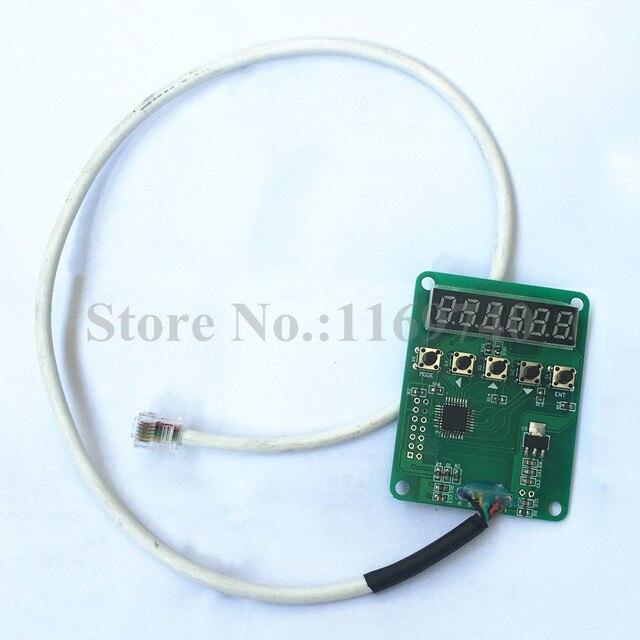 Controlador de Motor de bucle cerrado HB860H Unidad de configuración inteligente de mano, controlador Nema 34, dispositivo de placa de depuración de división de parámetros HB860H